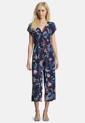Jumpsuit - dark blue/red