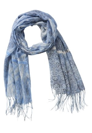 MIT PRINT - Scarf - light blue/grey