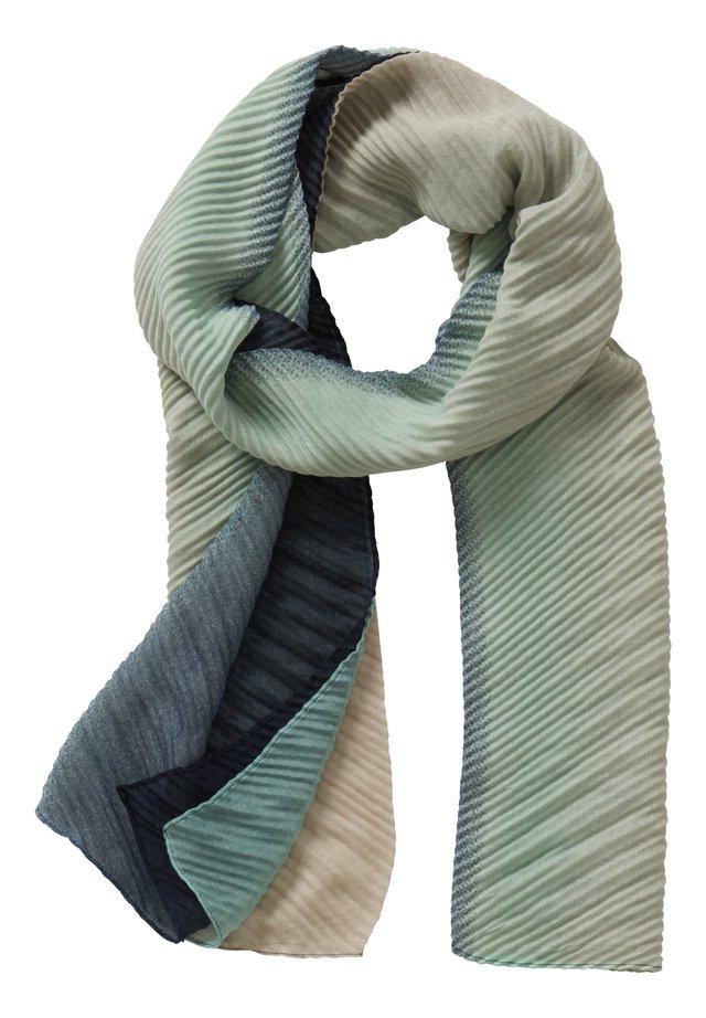 Schal - dark blue/green
