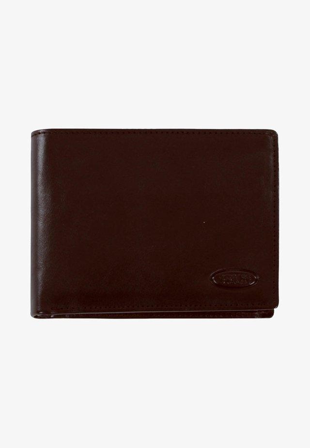 MONTE ROSA GELDBÖRSE RFID LEDER 12,5 CM - Wallet - brown