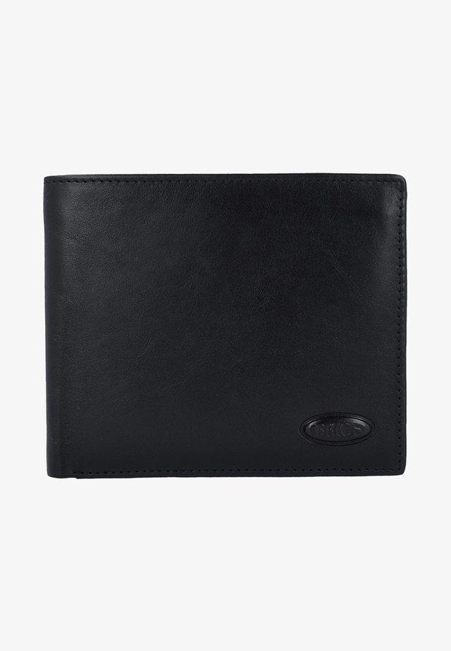 MONTE ROSA RFID LEDER - Portefeuille - black