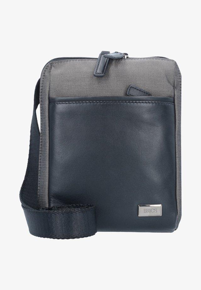 MONZA UMHÄNGETASCHE 16 CM - Across body bag - grey/black