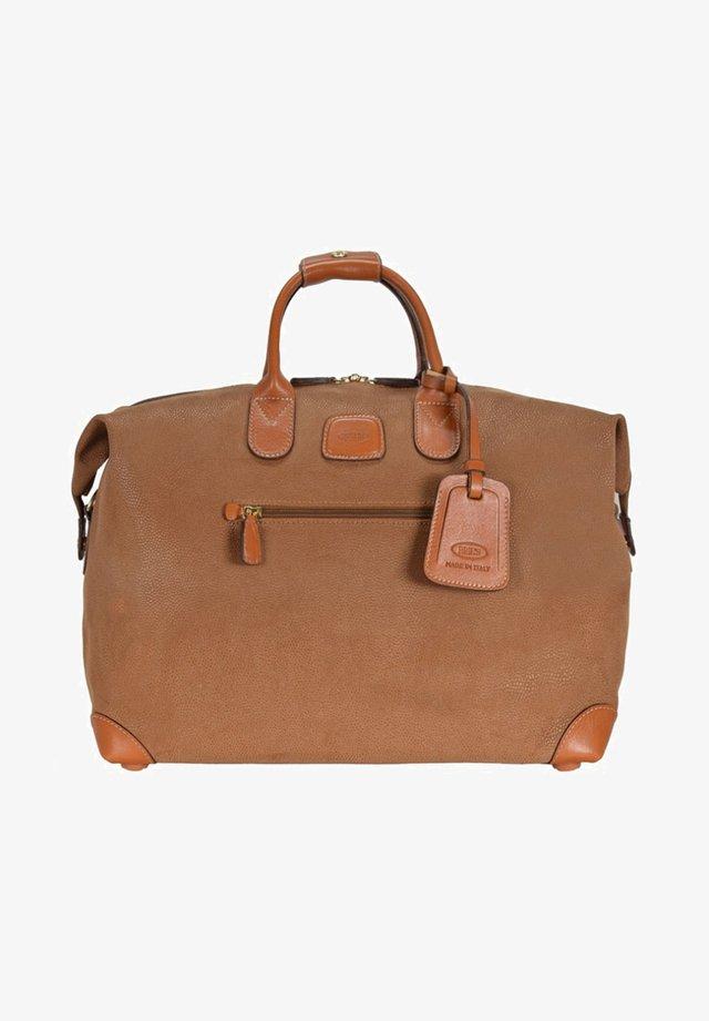 LIFE  - Weekend bag - camel