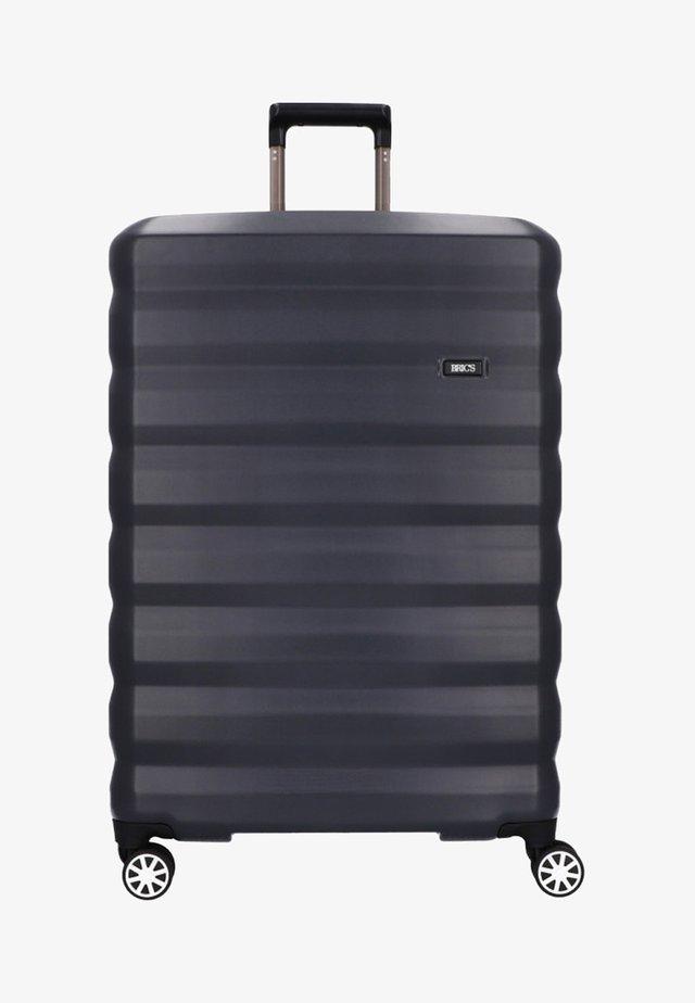 Wheeled suitcase - gray