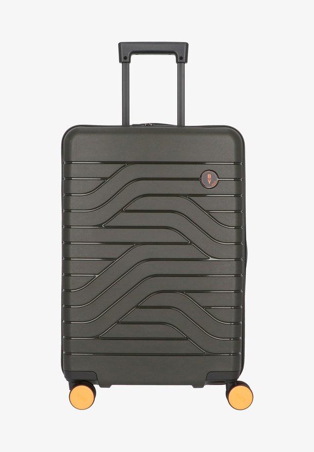 Wheeled suitcase - olivgruen