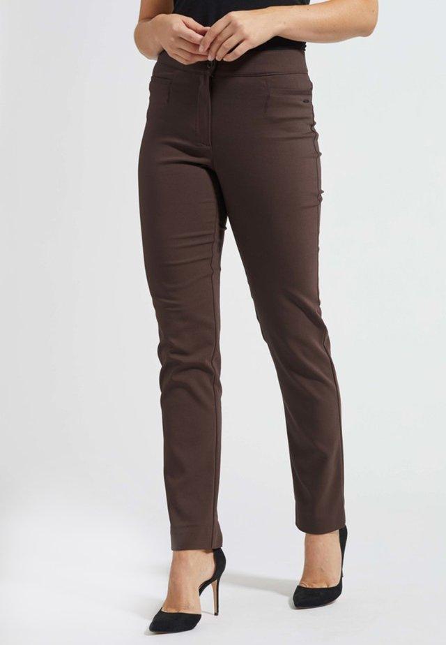 Pantalon classique - warm brown