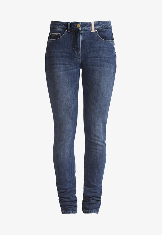 Jeans Skinny - denim blue washed