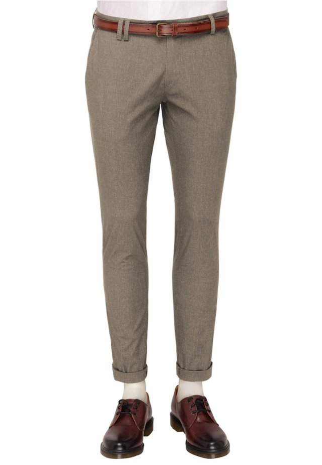 CLINTON - Suit trousers - green