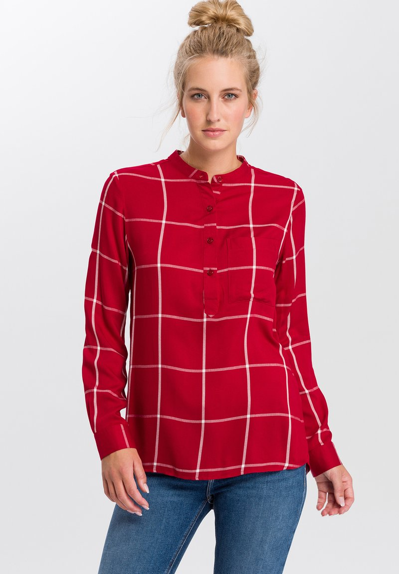 Cross Jeans - Blouse - dark red