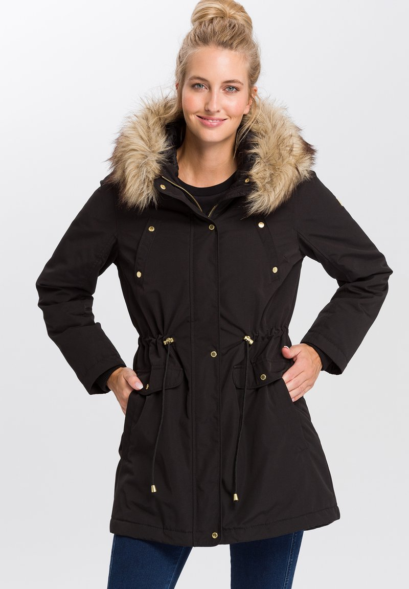 Cross Jeans - Winter coat - black