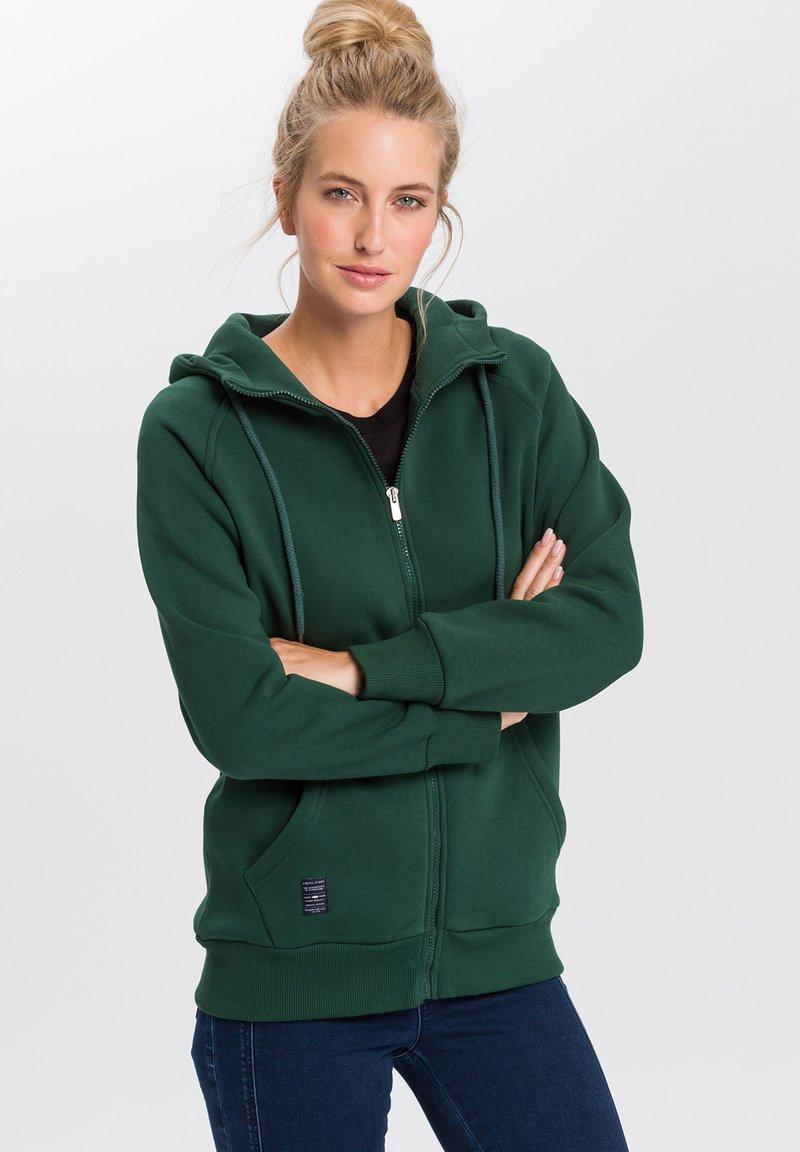 Cross Jeans - Zip-up hoodie - petrol