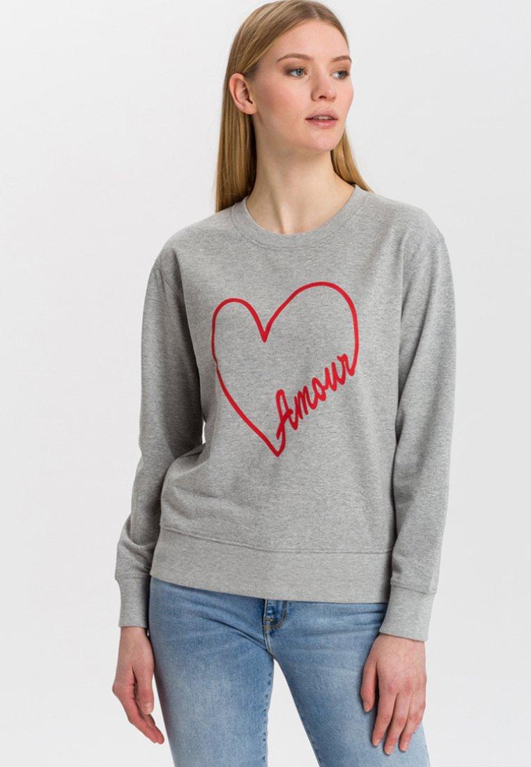 Cross Jeans - Sweatshirt - mottled grey