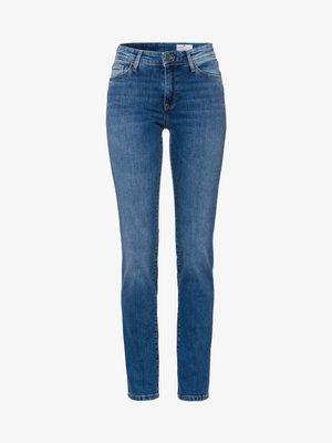 ANYA - Slim fit jeans - soft-blue-used