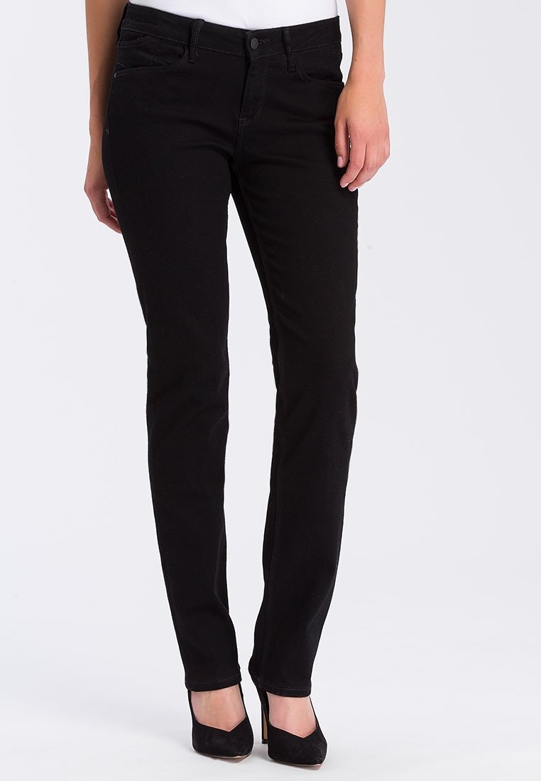 Cross Jeans - ROSE - Straight leg jeans - black