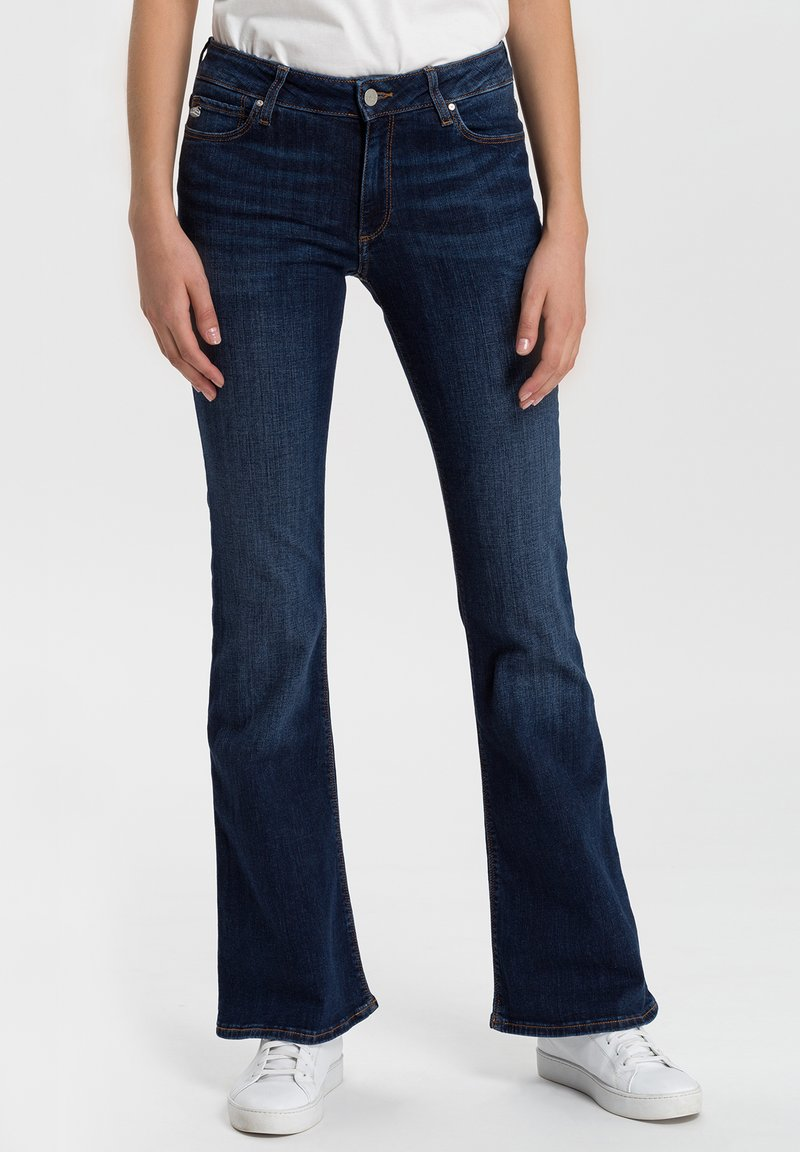 Cross Jeans - Flared Jeans - dark-blue