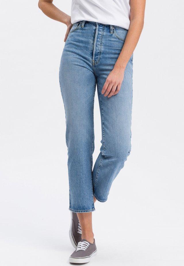 BROOKE - Slim fit jeans - mid-blue-used