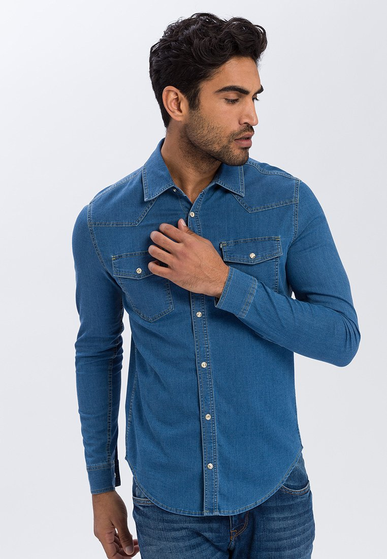 Cross Jeans - Shirt - light blue