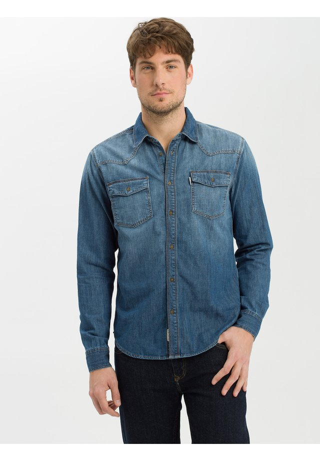 Shirt - mid-blue