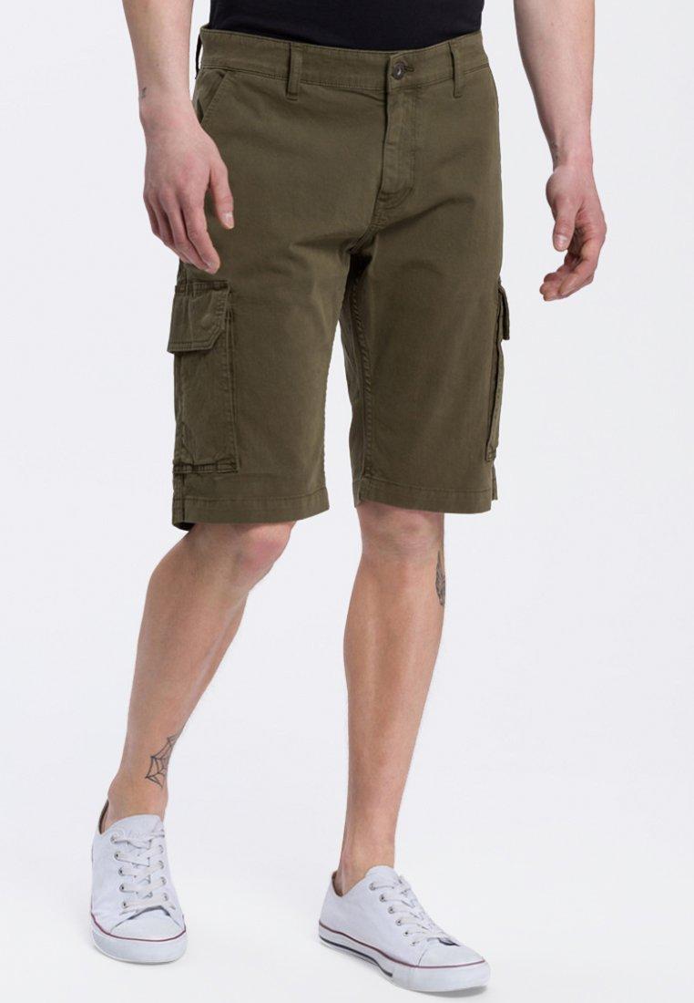 Cross Jeans - LEOM - Jeans Shorts - khaki