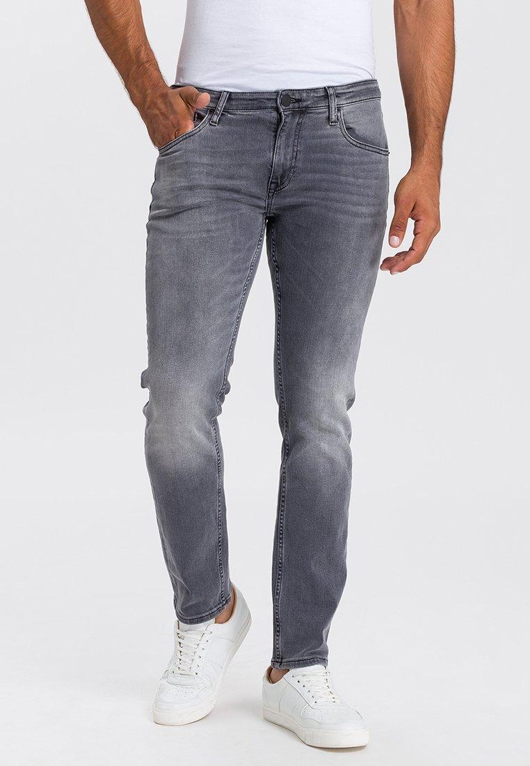 Cross Jeans - DAMIEN - Straight leg jeans - grey denim