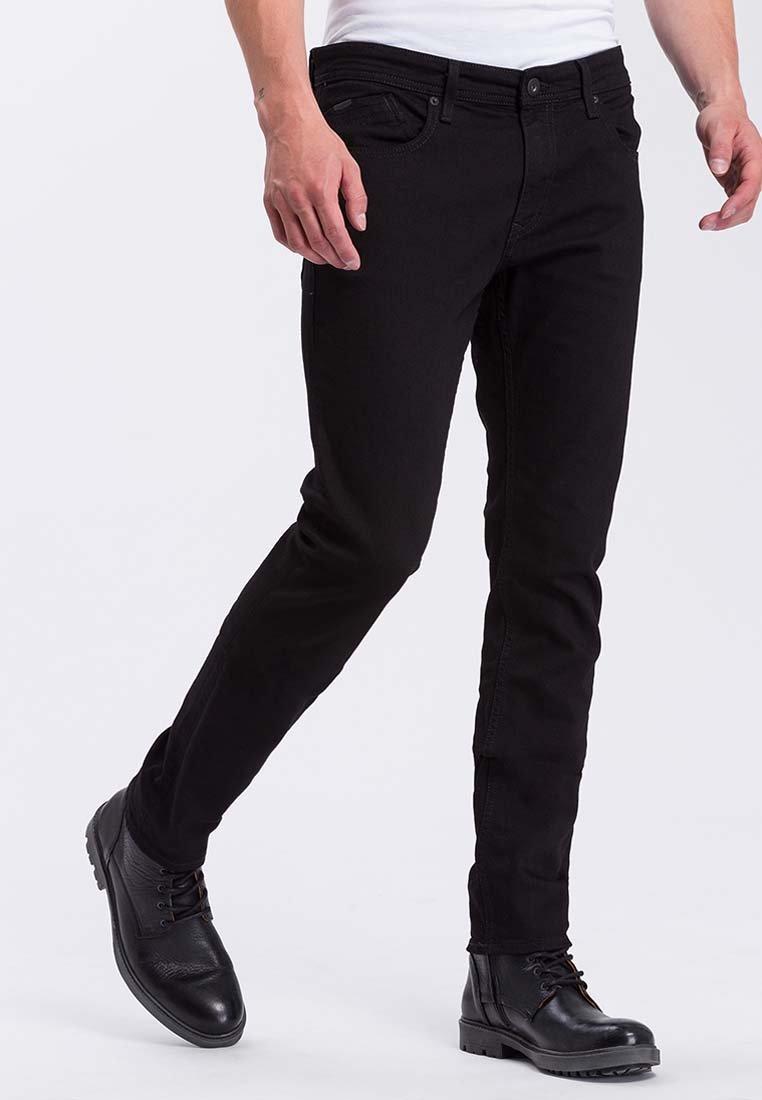 Cross Jeans - JIMI - Slim fit jeans - mottled black