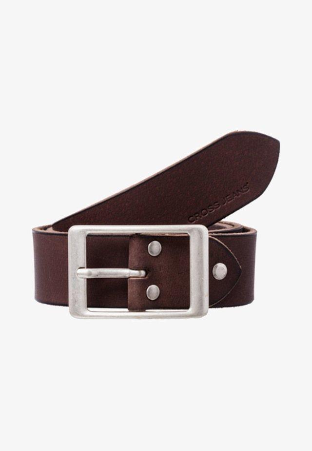 Belt - dark-brown