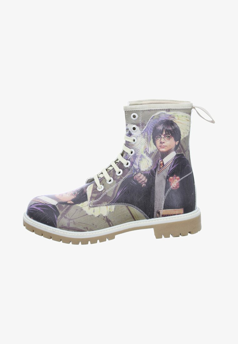 Dogo - HARRY POTTER AND HEDWIG - Lace-up ankle boots - beige