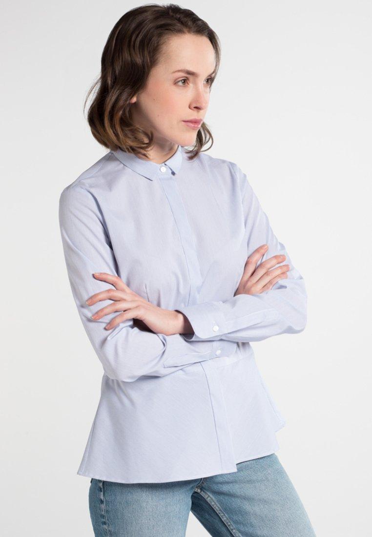 Eterna - SLIM FIT - Hemdbluse - blue