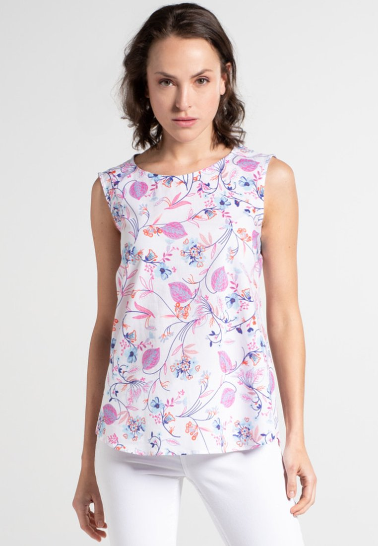 Eterna - MODERN CLASSIC - Bluse - pink/blue