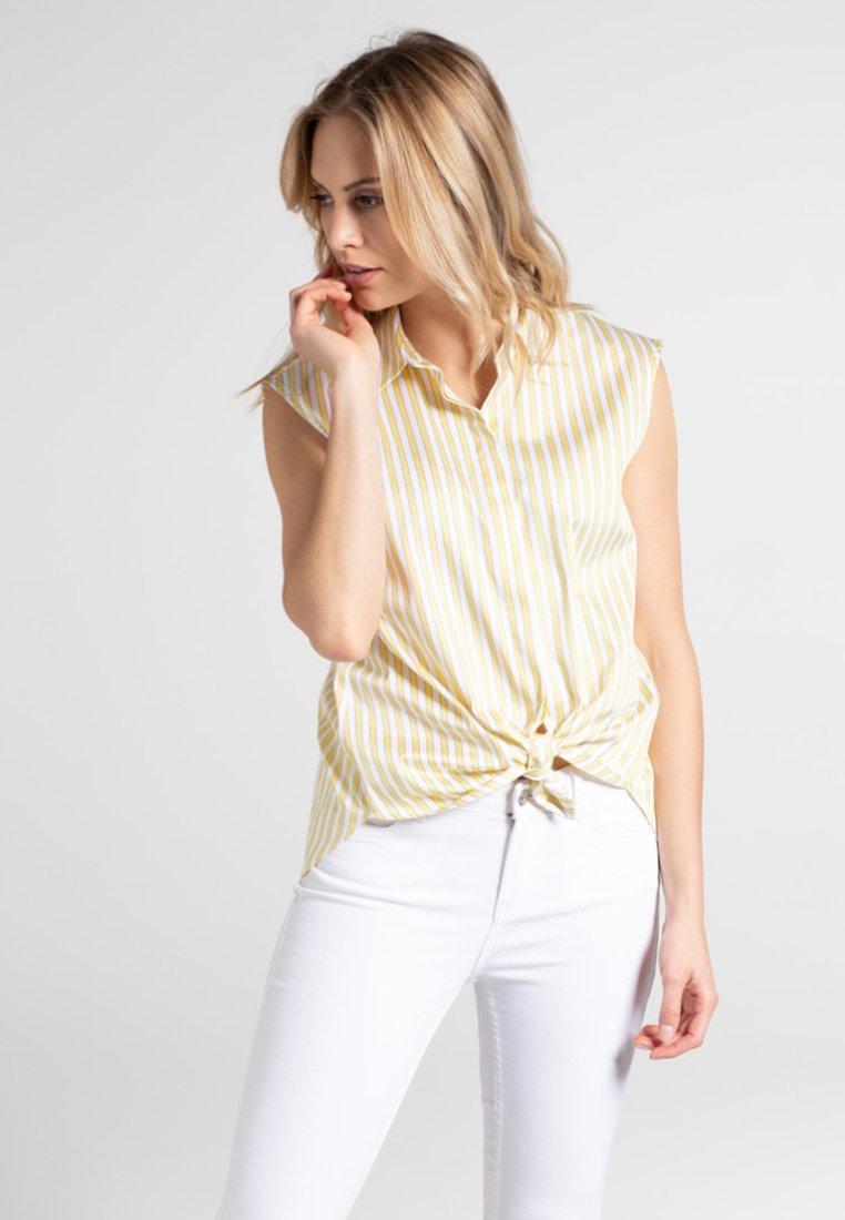 Eterna - Bluse - yellow white
