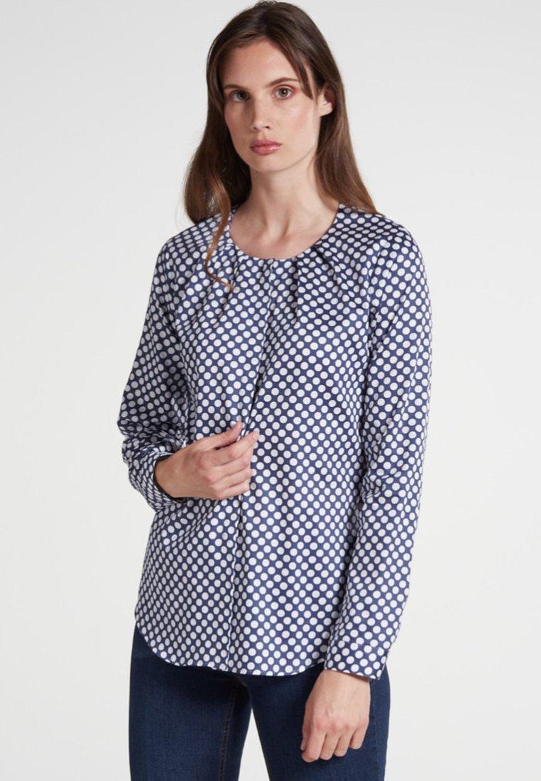 Eterna - MODERN CLASSIC - Bluse - dark blue