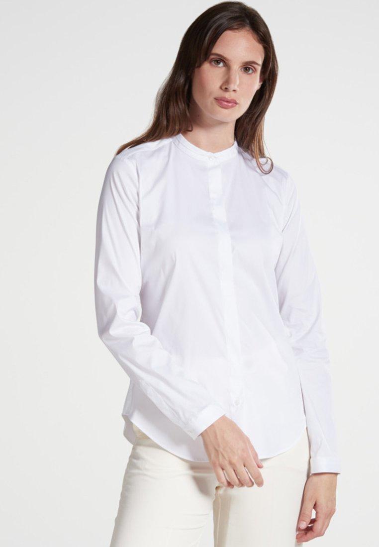 Eterna - SLIM FIT - Chemisier - white