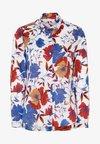 Eterna - MODERN  - Button-down blouse - blue/saffron/white