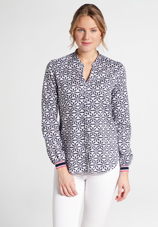 MODERN CLASSIC - Blouse - navy/white