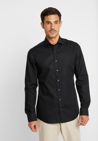 Eterna - SLIM FIT - Camicia elegante - black - 0