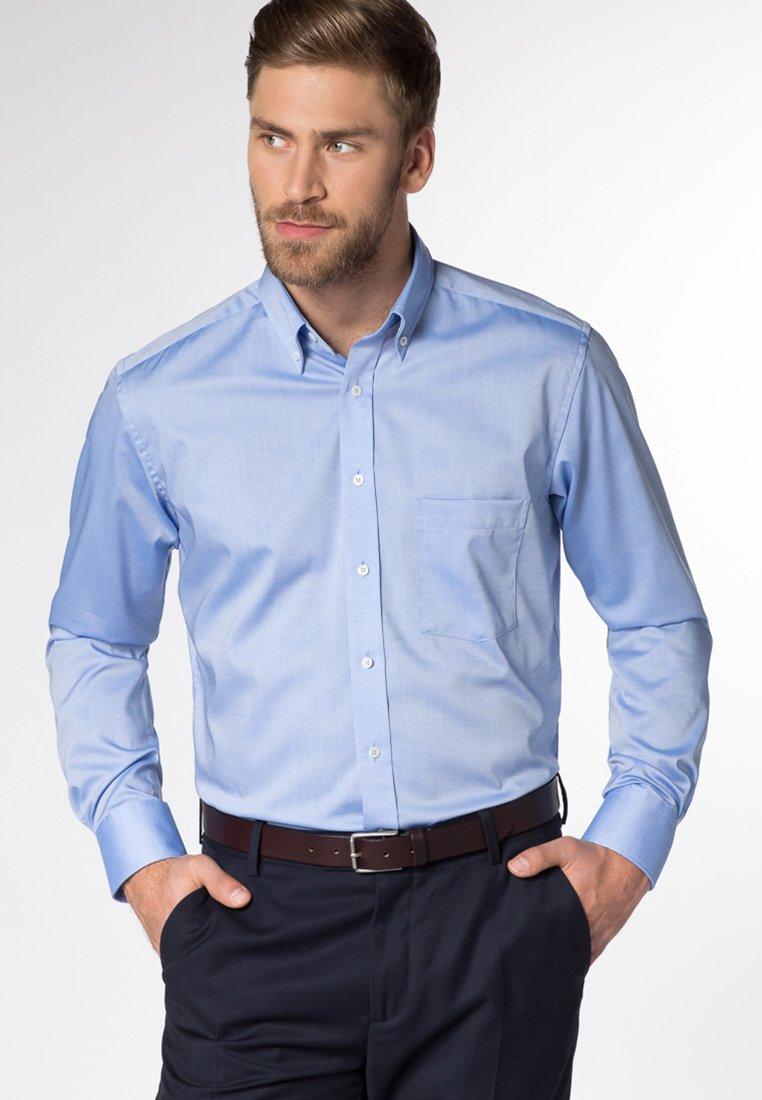 Eterna - FITTED WAIST - Hemd - blau