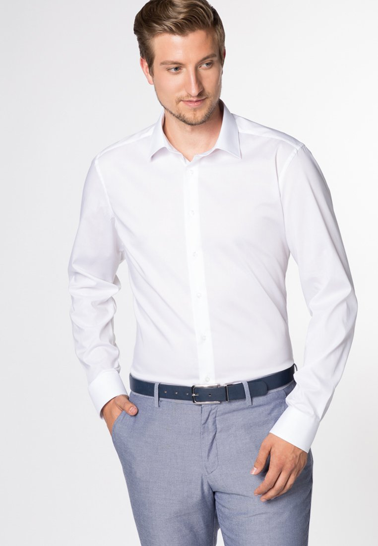 Eterna - SLIM FIT - Formal shirt - white