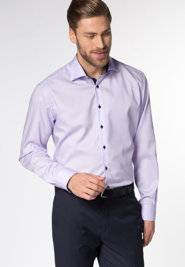 FITTED WAIST - Hemd - purple