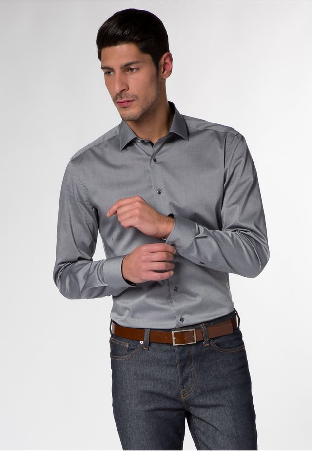 SLIM FIT - Zakelijk overhemd - grau