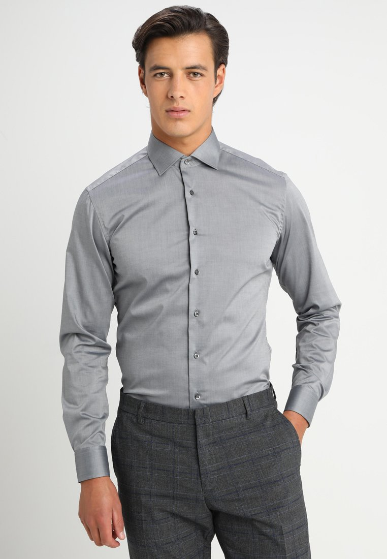 Eterna - SLIM FIT - Camisa elegante - dark grey