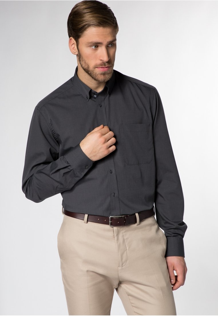 Eterna - COMFORT FIT - Shirt - anthrazit
