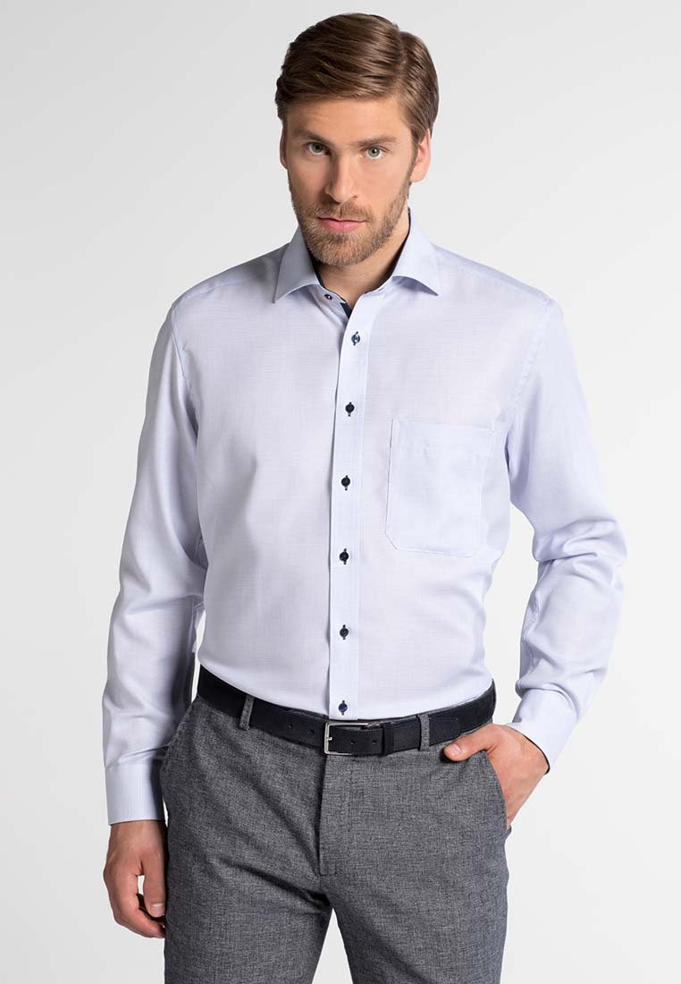 Eterna COMFORT FIT - Koszula biznesowa - hellblau