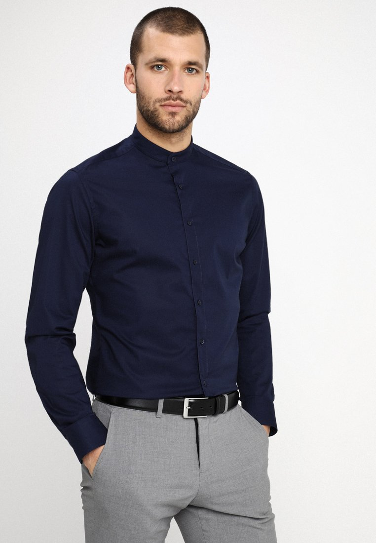 Eterna - SLIM FIT - Camisa - dark blue