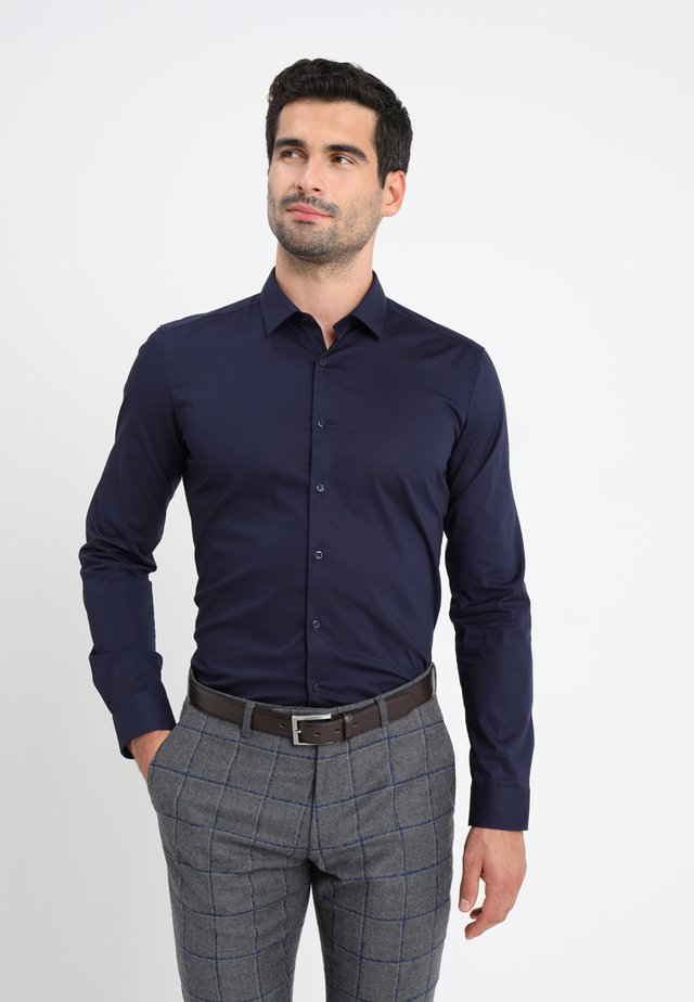 SUPER SLIM KENT - Skjorta - dark blue