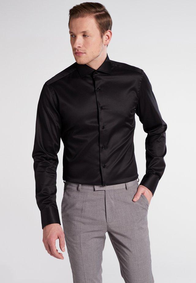 SLIM FIT - Zakelijk overhemd - black
