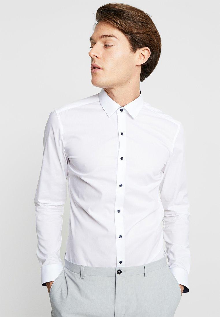 Eterna - UNI STRETCH SUPER SLIM MINI KENT - Finskjorte - white