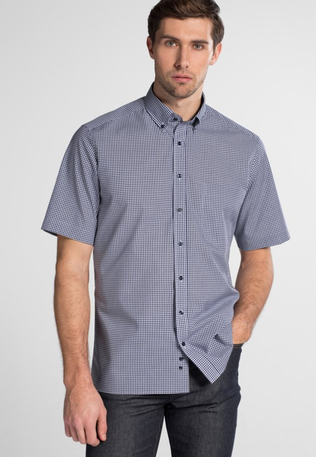 REGULAR FIT - Overhemd - marine/white