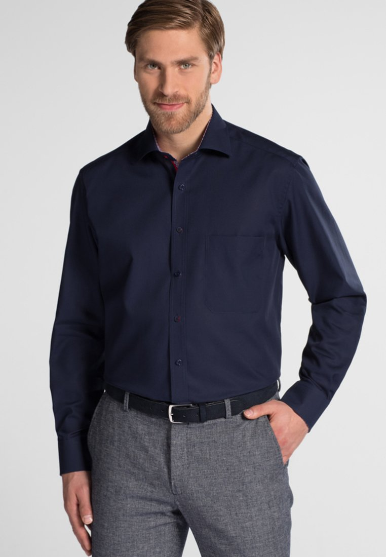Eterna - LANGARM HEMD COMFORT FIT - Hemd - dark blue