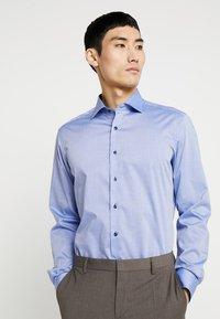 Eterna - SLIM FIT - Formální košile - mid blue - 0