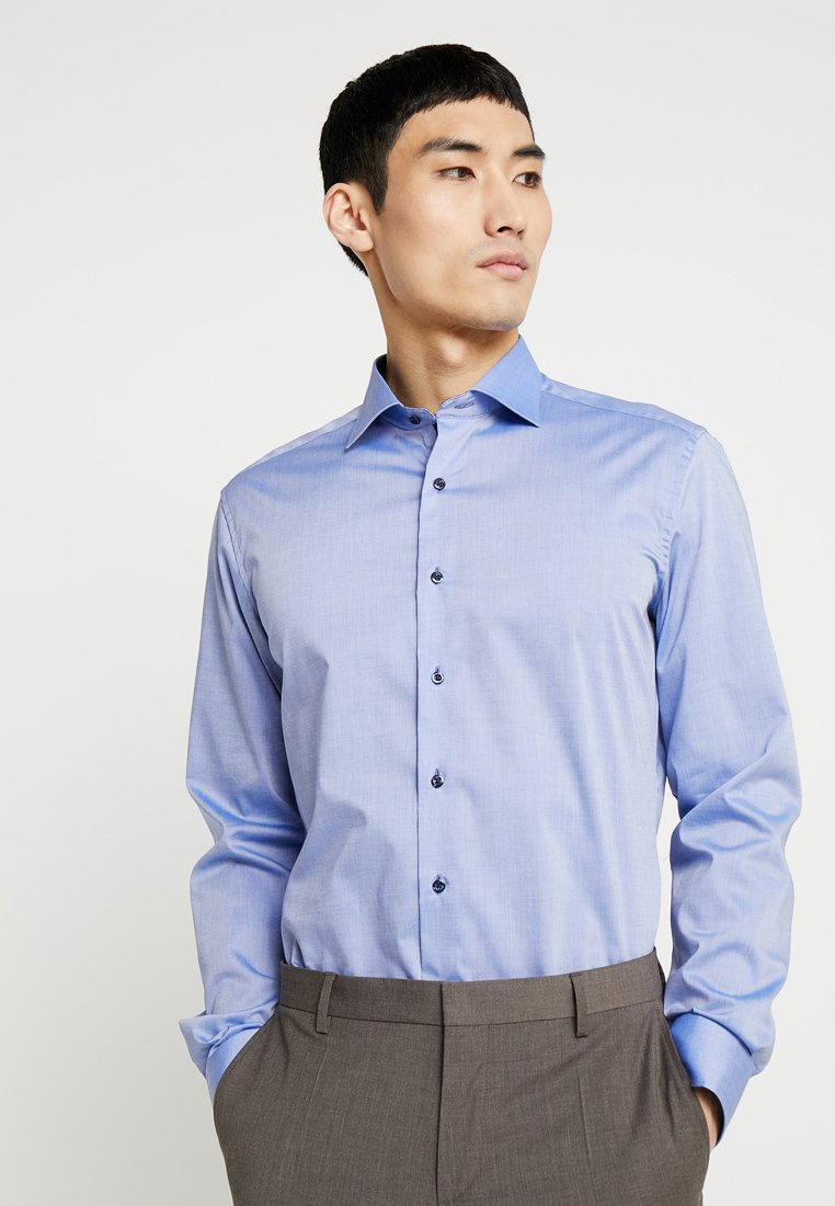 Eterna - SLIM FIT - Formal shirt - mid blue